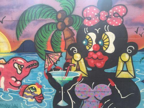 mural art graffity