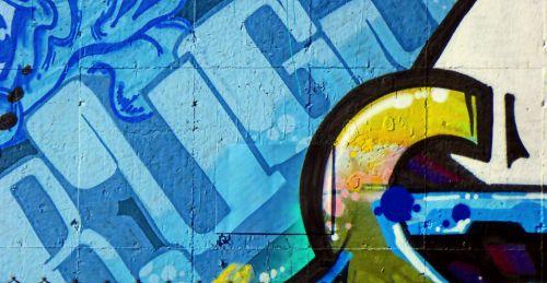 Mural - Blue
