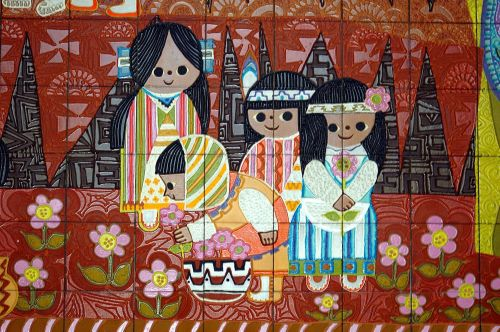 Mural Of Children