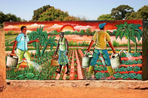 murals africa burkina faso