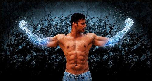 muscle  magic  wizard