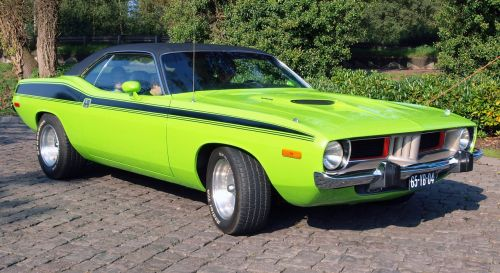 muscle car antique fast