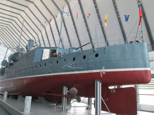 museum the zhong shan gunboat warships