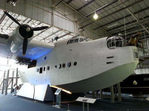 museum flying boat aeroplane