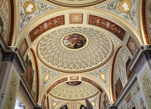 museum  ceiling  light