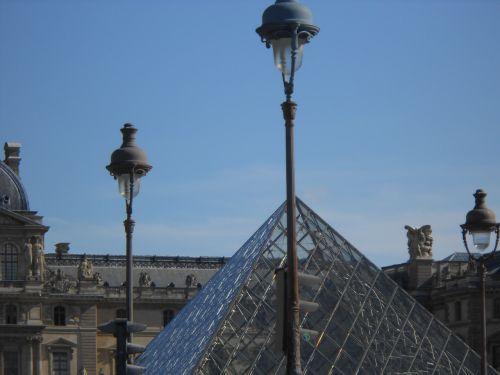 museum louvre pyramid