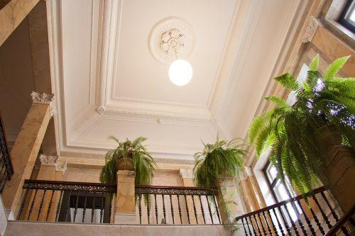museum rietberg villa wesendonck staircase