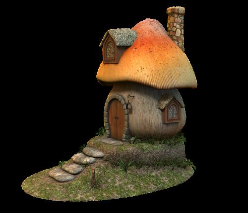 mushroom home fairy tales