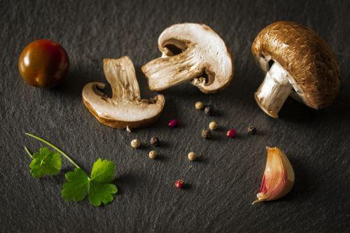 mushroom vegetables food