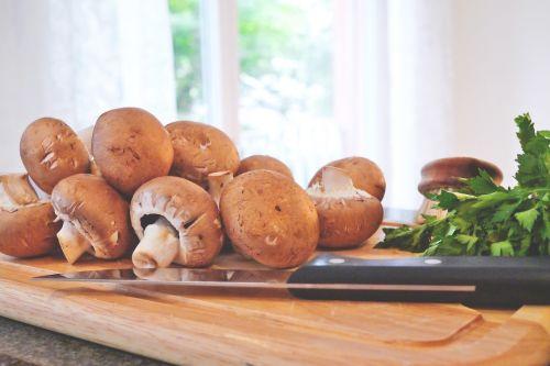 mushroom food cook
