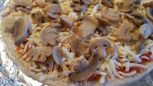 Mushroom Topping On Pizza