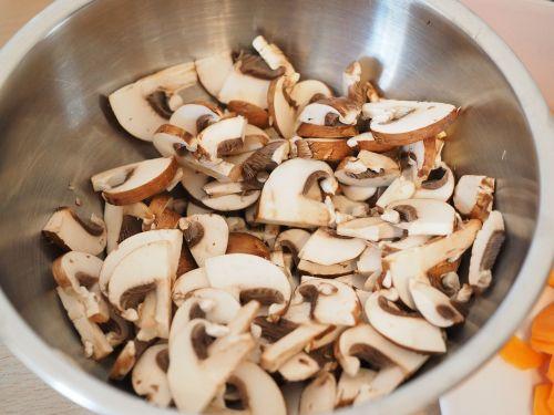 mushrooms ingredient preparation