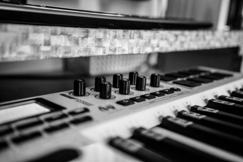 music home recording midi keyboard