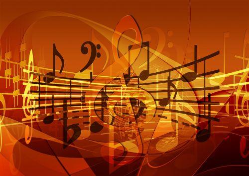 music treble clef sound