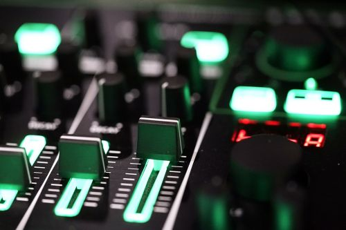 music technology knobs