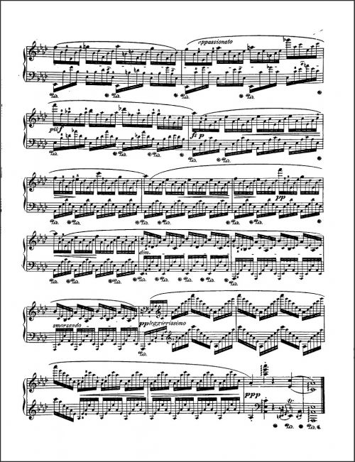 music sheet music notes