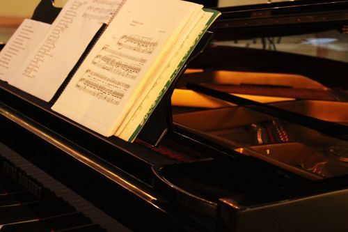 music piano score
