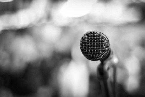 music microphone studio