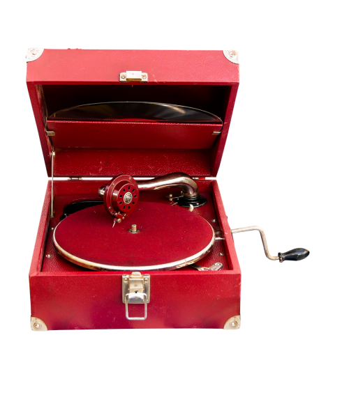 music record player playback