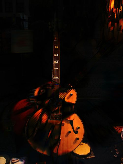 music guitar treble clef