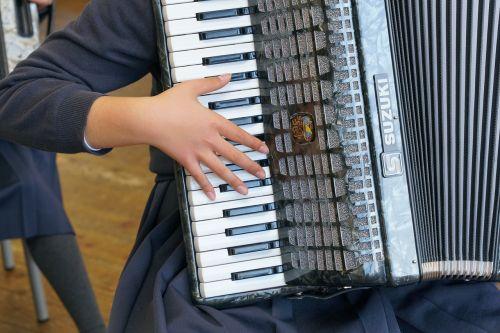 music accordion performance