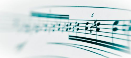 music notenblatt melody