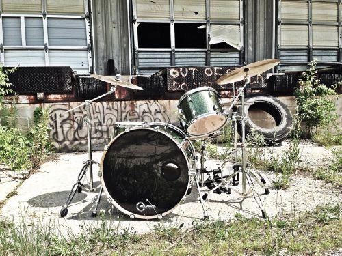 music drums old