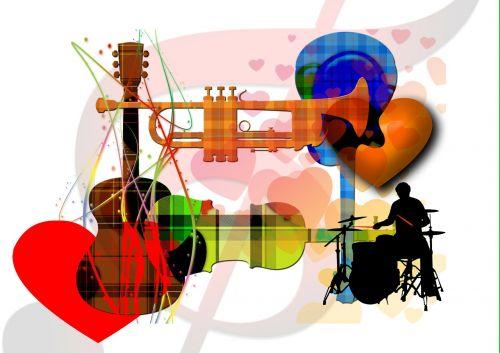 music treble clef trumpet
