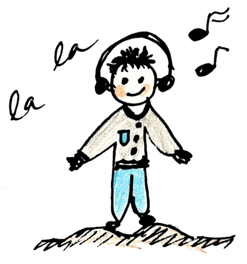 music boy cartoons