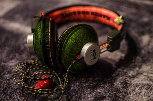 music headphones earphones