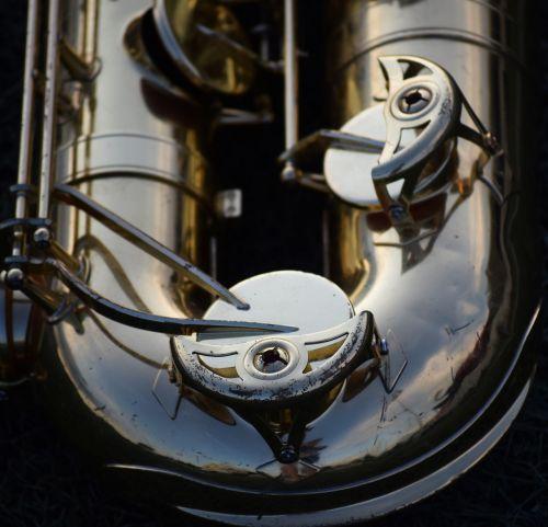 music instrument saxophone