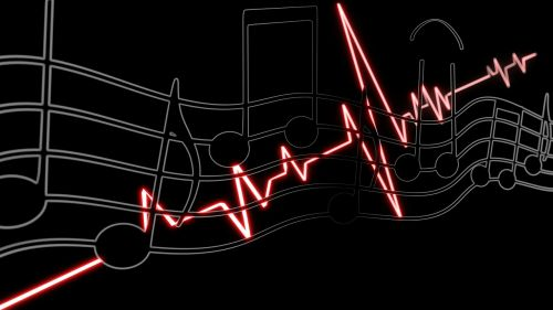 music wallpaper heartbeat