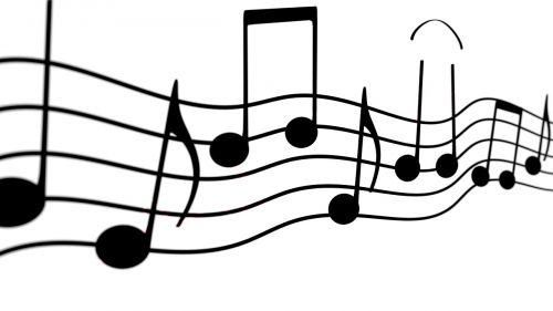 music melody musical note