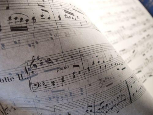 music classical sheet music