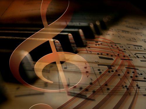 music piano keys