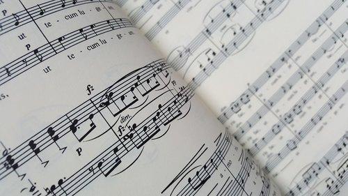 music  notenblatt  partiture