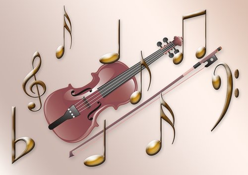 music  violin  clef