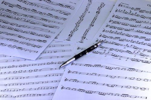 music  sheet music  clef