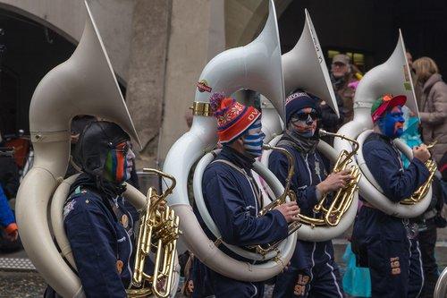 music  guggen  carnival parade