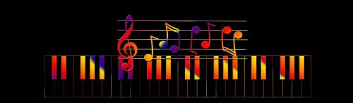 music colorful color