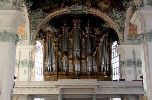 music organ main organ