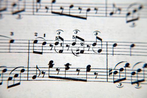 music notenblatt texture