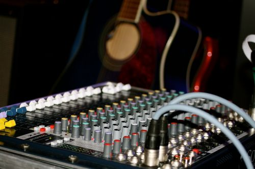 music mixer controller