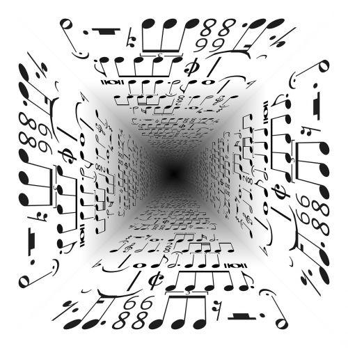music vanishing point center