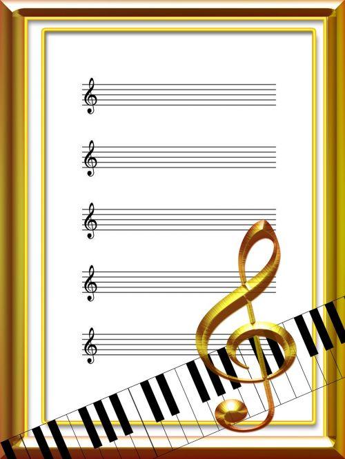 music sheet music acoustics