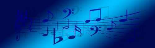 music clef melody