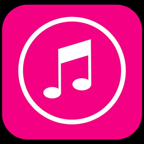 music app icon  mobile launcher icon  music symbol