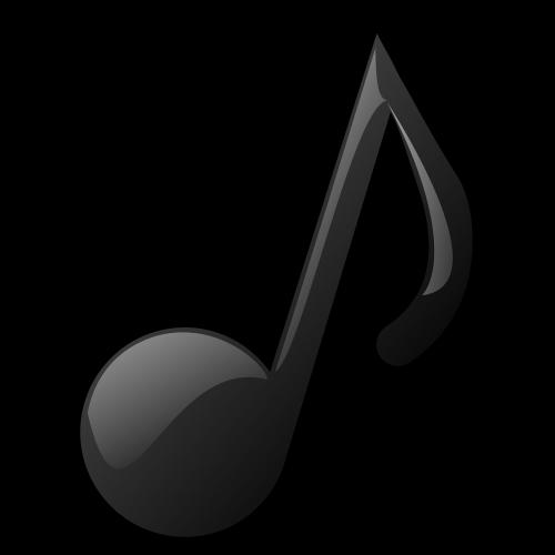 music note quaver png
