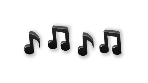 music notes song melody