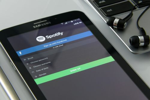 music on your smartphone spotify music service
